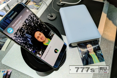 Samsung представили карманный фотопринтер