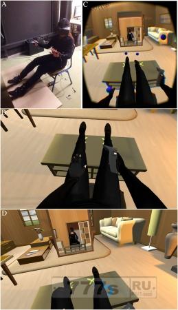 Этот странный опыт виртуальной реальности может, излечить вас от страха умереть.