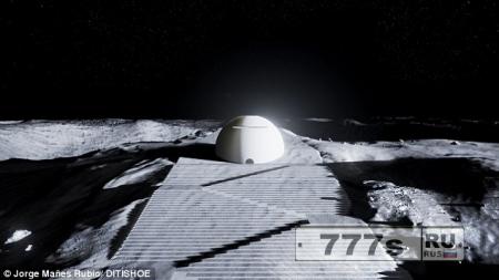Европейское космическое начальство раскрыло план строительства лунного храма.