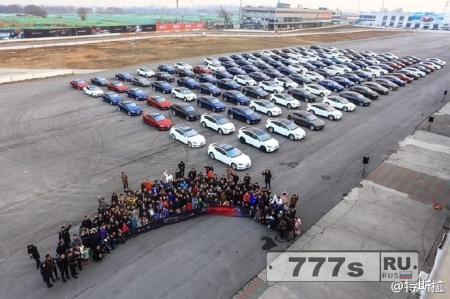 В Китае установили электромобильный рекорд