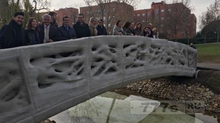 В Испании распечатали мост