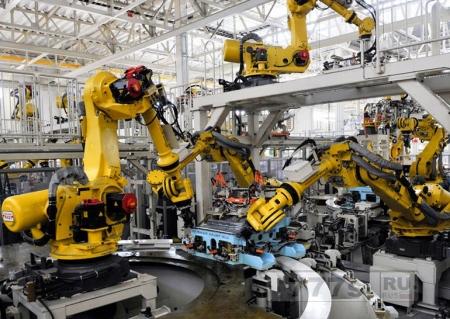 Роботы потеснили китайских рабочих в городе Дунгуань