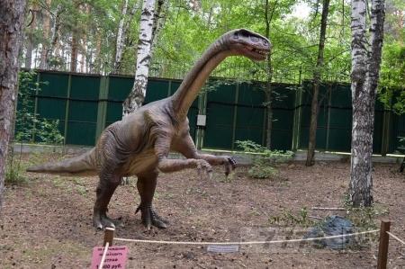 Найдены микроскопические остатки мяса динозавра