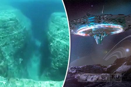 Эксперты утверждают, что древние подводные города – это доказательства существования инопланетян.