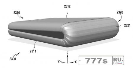 Samsung готовит гибкий смартфон.