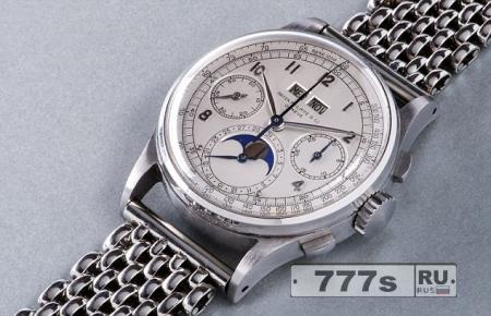 Ультра редкие наручные часы Патек Филипп из нержавеющей стали продаются за рекордную цену.