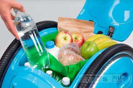 В Италии создан робот, который будет транспортировать багаж своего хозяина.