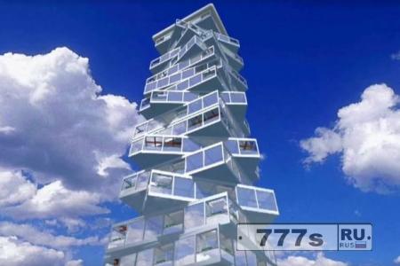 Невероятный вращающийся отель построят в Дубай.