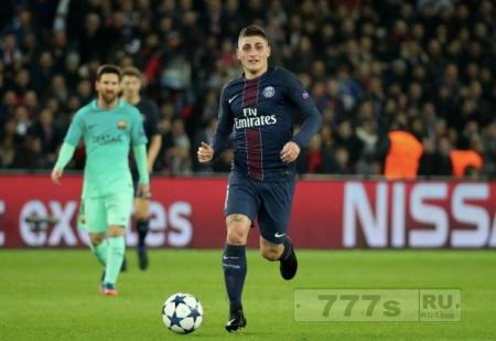 Барселона подкралась к Марко Верратти насчет перевода.