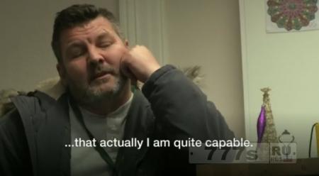 Бывший наркоман получает свою первую работу через 30 лет.
