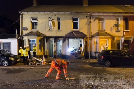 Мужчина взорвал свой собственный дом, потому что он был в депрессии.