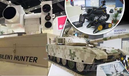 Лазерное оружие под названием «Сайлент Хантер», представил Китай.