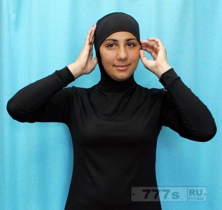 Мусульманские пловчихи теперь будут допускаться к гонке в буркини.