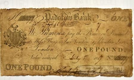 200-летняя банкнота возвращена в музей десятилетия спустя после того, как была украдена.