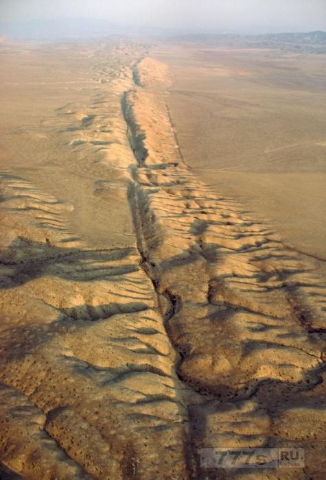 Ученые боятся, что в случае большого землетрясения часть Калифорнии может уйти под воду.