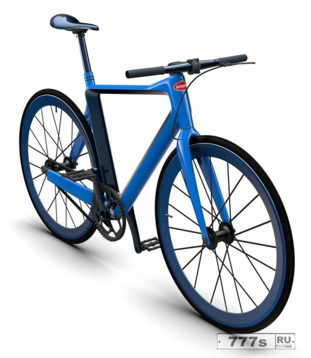 Компания Bugatti представила свой новый велосипед... за $39,000.