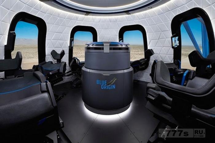 Взгляните на капсулу ракеты Blue Origin, которая может быть доставит туристов в космос в следующем году.