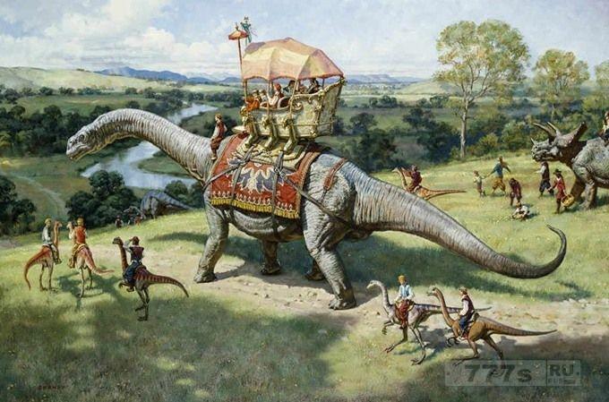 Не является ли это доказательством того, что динозавры жили с людьми?