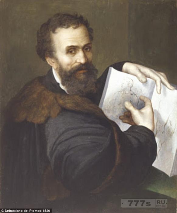 Искусствовед утверждает, что портрет Микеланджело, который висит в Национальной галерее является поддельным.