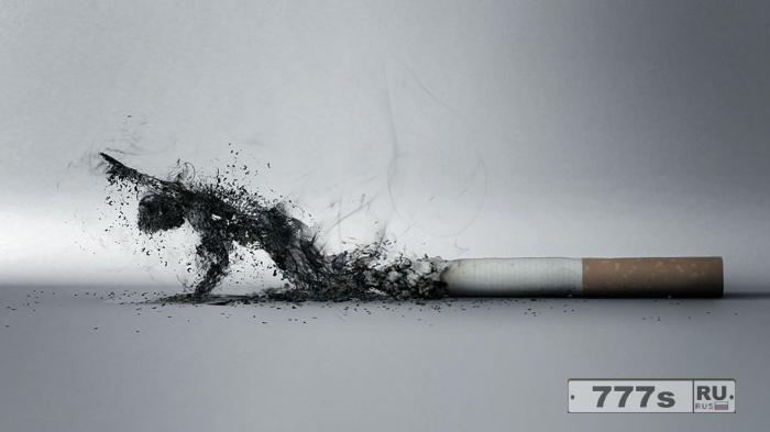 Каждая 9 смерть из 10 смертей во всем мире вызвана курением.