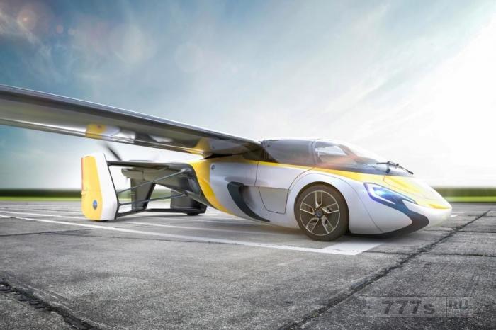 Футуристический летающий автомобиль, который может появиться в этом году.