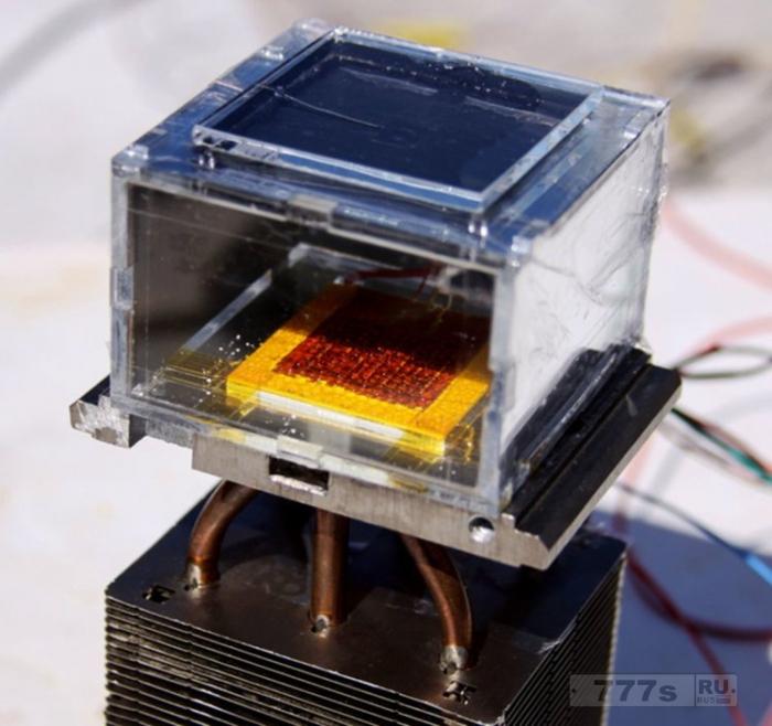 Эта машина создает воду из воздуха, используя энергию Солнца.