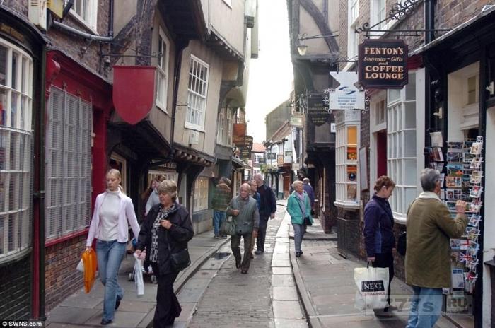 Самые красивые улицы Великобритании.