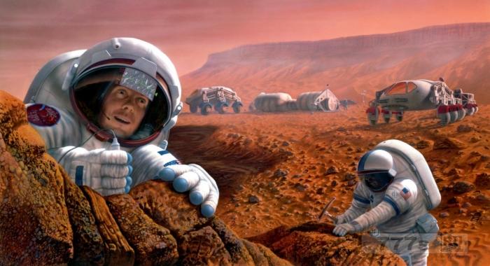Марс будет колонизирован генетически модифицированными суперлюдьми, считают ученые.