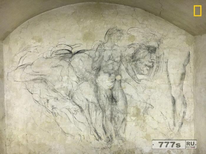 Секретная дверь во Флорентийской часовне «привела в комнату, заполненную произведениями Микеланджело».