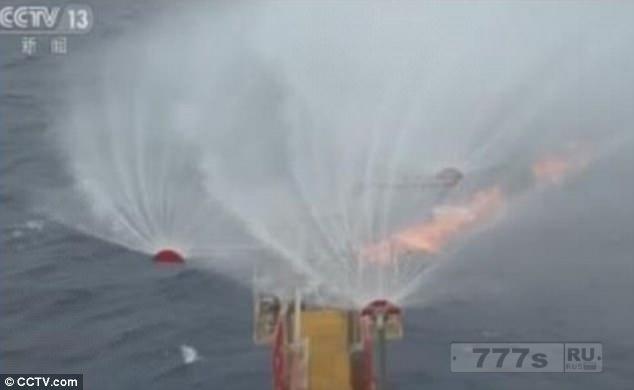 Пекин заявляет об успехе в добыче легковоспламеняющегося льда под Южно-Китайским морем.