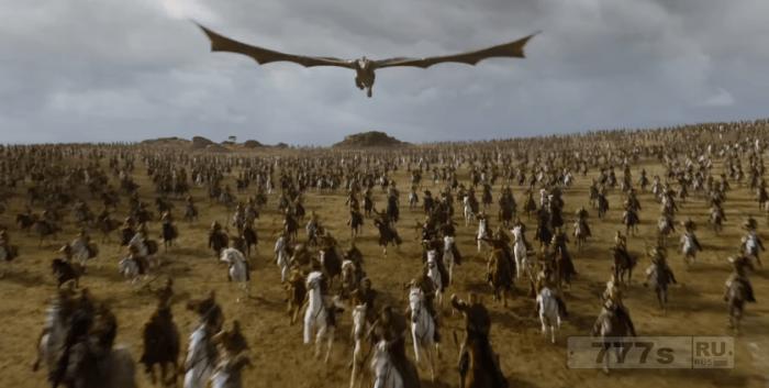 Первый взгляд на «Игру Престолов» 7 сезон показывает, что Джон Сноу попал в беду, летают злые драконы.