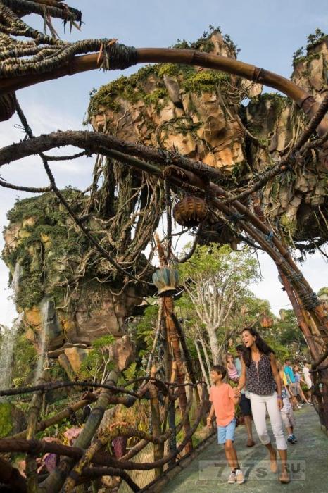 Новый диснейский парк развлечений Аватар открылся через пять лет строительства.