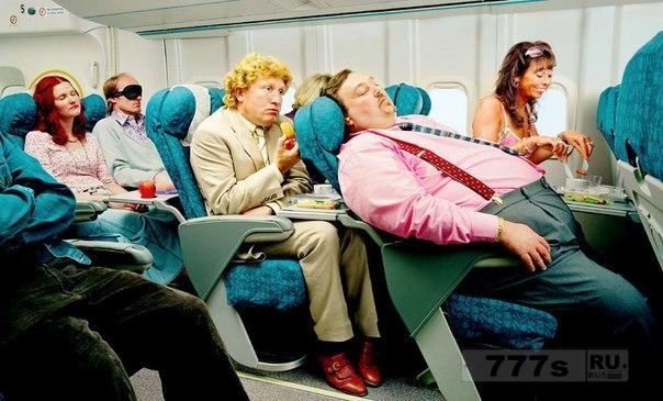 Люди, которые откидывают спинку своего места в самолетах, - это худший вид людей.