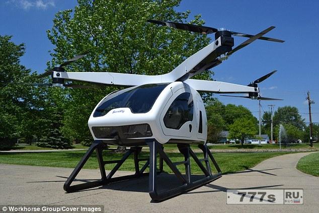 Поможет ли двухместный электрический гибридный вертолет пассажирам в час пик в 2019 году?
