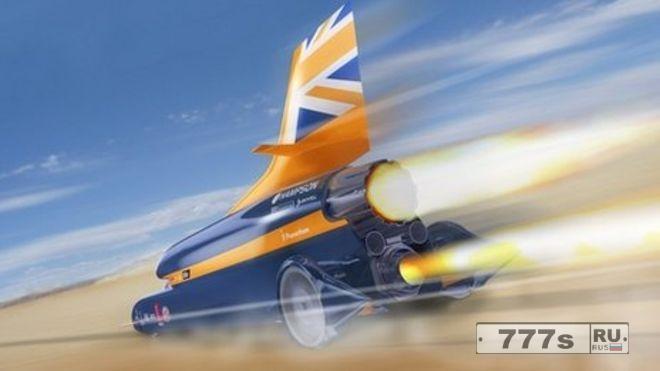 Сверхзвуковой автомобиль Bloodhound, способный преодолевать 1000 миль в час и проехать милю за 3,6 секунды, получает зеленый свет для тест-драйва.