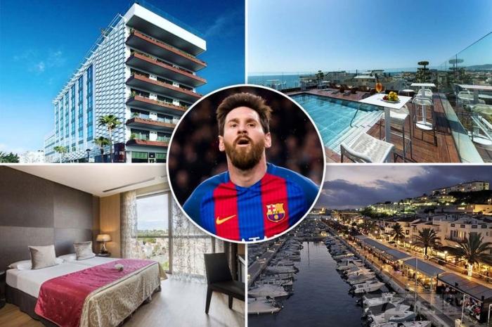 Барселонская суперзвезда Лионель Месси покупает роскошный четырехзвездочный отель на Средиземном море за 26 млн фунтов