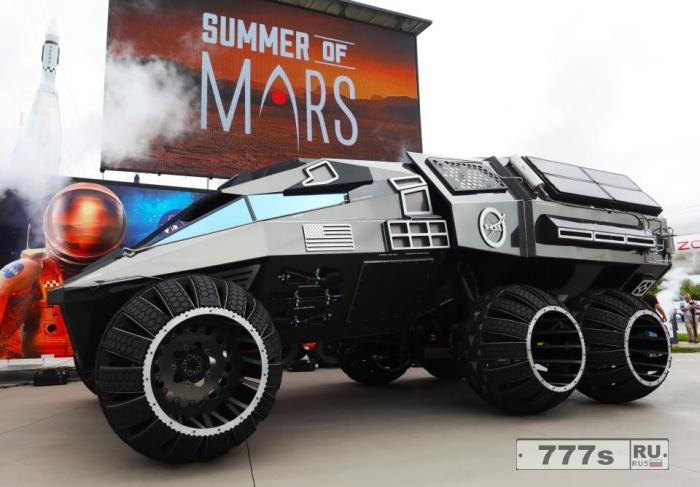 Концепт-кар НАСА для Марса предназначен для охоты на инопланетян на Красной планете