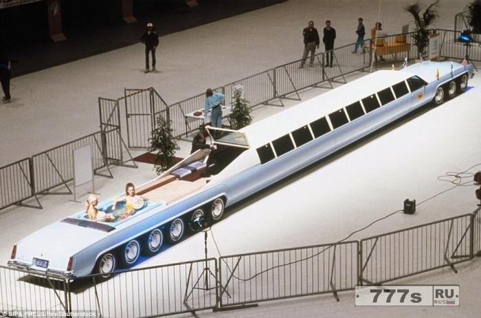 Самые невероятные лимузины в мире.