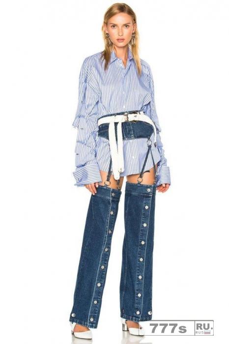 Y Project лайбл, который любит Гиги Хадид, выпустил необычные джинсы.