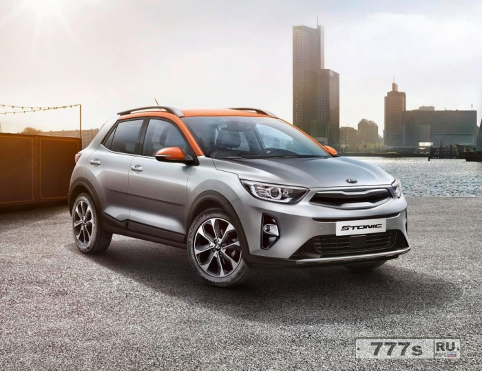 Kia представила новый внедорожник Stonic, он должен переключить на себя часть потенциальных покупателей Nissan Juke.