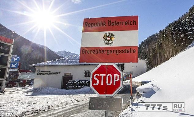 Австрия отправила танки и войска, чтобы заблокировать итальянскую границу для предотвращения наплыва мигрантов.
