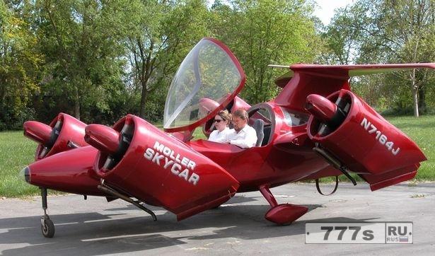 Первый летающий автомобиль в мире теперь продается на eBay.