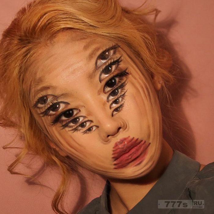 Художник создает безупречные стили макияжа, выглядящие так же, как цифровые фотографии.