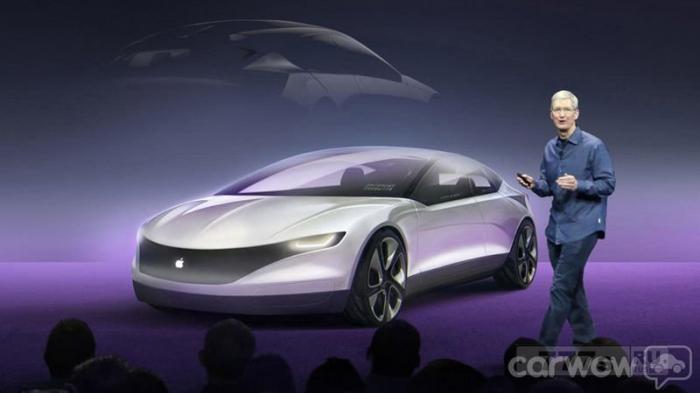 Эппл начнет выпуск собственного автомобиля для самостоятельного вождения.