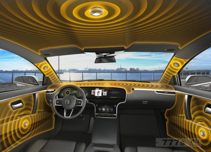 Ваш будущий автомобиль не будет иметь динамики, но вы сможете воспроизводить музыку через крышу, сиденья и приборную панель.