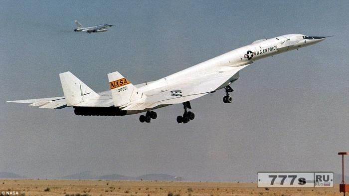 NASA надеется возродить сверхзвуковые самолеты для полетов.
