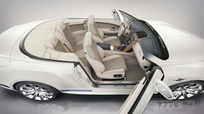 Будет выпущено только 30 этих супер-яхт вдохновленных Bentley Continental GT Convertibles