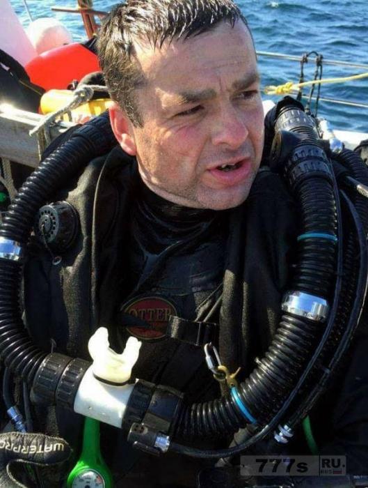 Британский аквалангист, загадочно умер, исследуя знаменитое кораблекрушение Андреа Дориа.
