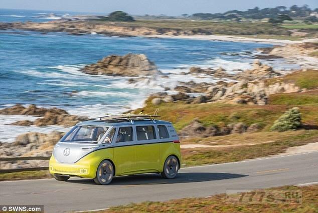 Volkswagen подтверждает, что электрическая версия микроавтобуса называется ID. Buzz.