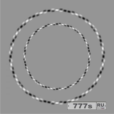 Ошеломляющая оптическая иллюзия показывает два круга, которые идеально круглые, хотя они выглядят не такими.